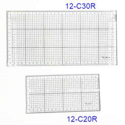 兩面鋼長方眼尺 (2)