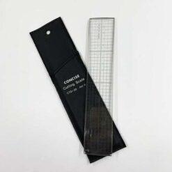 四邊鋼邊切割尺 CTS-20 (附皮套) 日本製 (2)