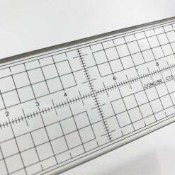 四邊鋼邊切割尺 CTS-20 (附皮套) 日本製 (3)