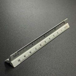 鋁製三角比例尺-10cm