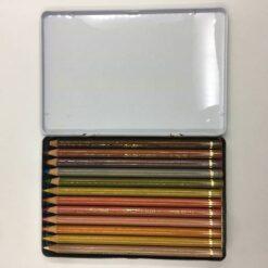 09-FW12 - Conte 水彩鉛筆12色鐵盒 2