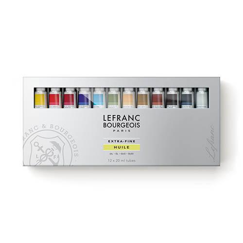 LB 卓越油畫顏料禮盒組 20mlx12色 3013644051656