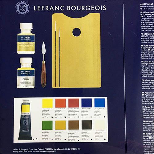 LB-fine-油畫顏料木禮盒組 2