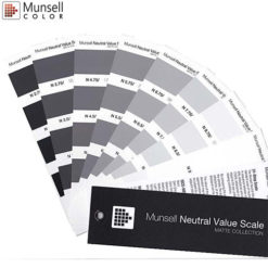 M50135 Munsell Neutral Value Scale - Matte Finish