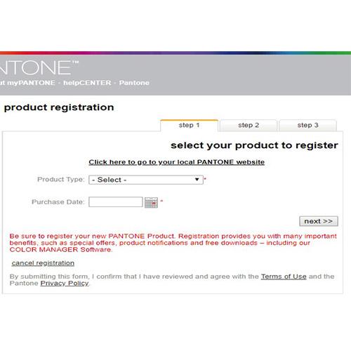 pantone register